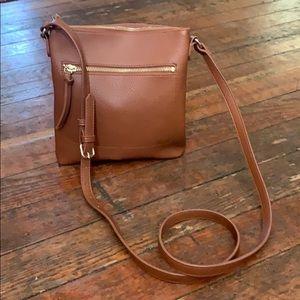 Faux leather Crossbody purse